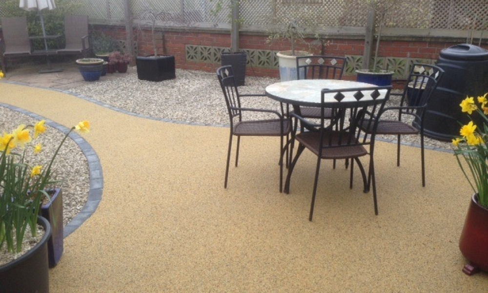Resin Patio Project 4
