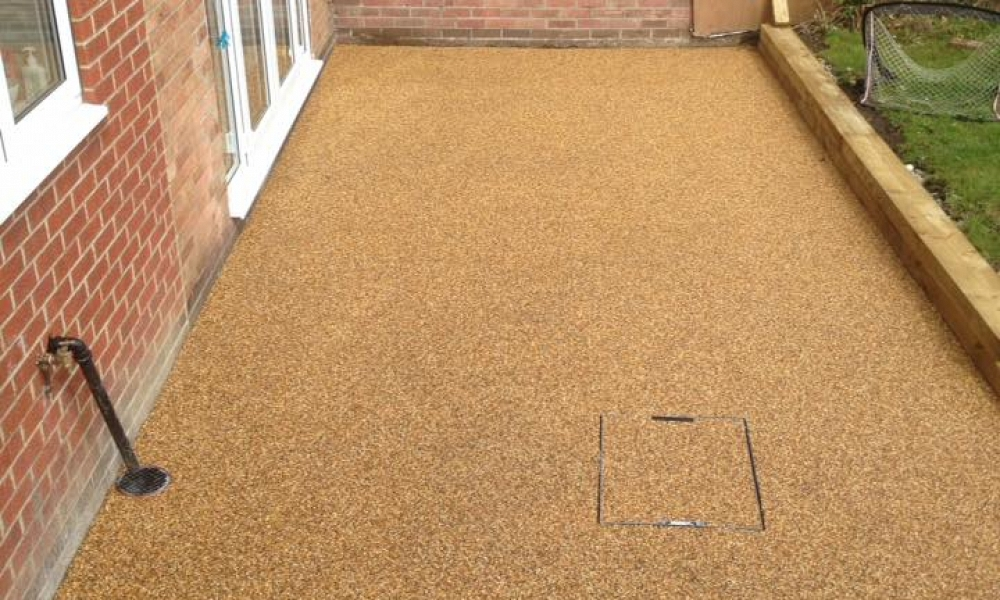 Simple Resin Patio Project